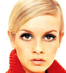Twiggy, fashion icon ♥ Btw, I lover her make up!!!!