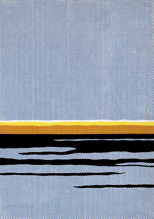 essentiallydispensable:  Seascape, Roy Lichtenstein, 1965
