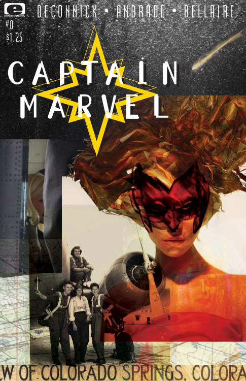 kellysue:  capyrancher:  If Captain Marvel came out between like 1988 and 1991. (after McKean)  Cool.