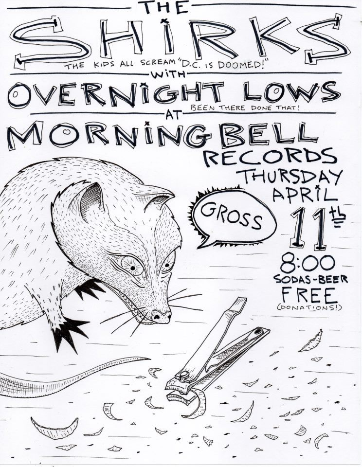 OVERNIGHT LOWS // SHIRKS // by MARSH NABORS