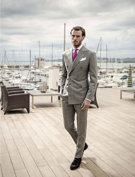 How to stand out from that grey dull business crowd - Sartoria Rossi SS 2013
