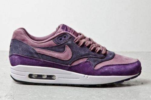 …..  Suede Purple Rains  Air Max 1's