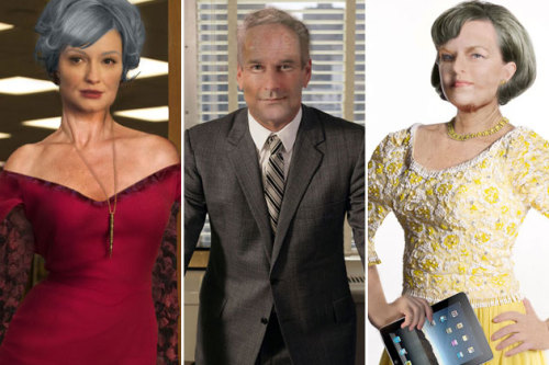 What 'Mad Men' Characters Would Look Like Today | The FW The horror.