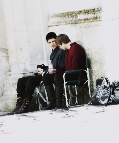 """I imagine myself and Colin, when we do manage to get some time away from each other, we try to separate ourselves from each other as much as possible,"" he laughed. ""I think we both need that breather to realize there are other people and other ways of telling jokes!"" x"