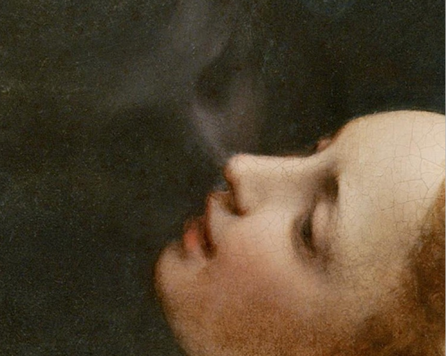indubio:  Detail of Jupiter and Io by Correggio