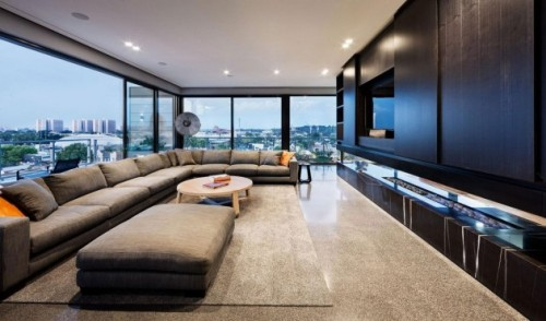 Coppin Penthouse by JAM Architects Erin, contemporist.com JAM Architects have designed the Coppin Penthouse in Melbourne, Australia. Architects: JAM Architects