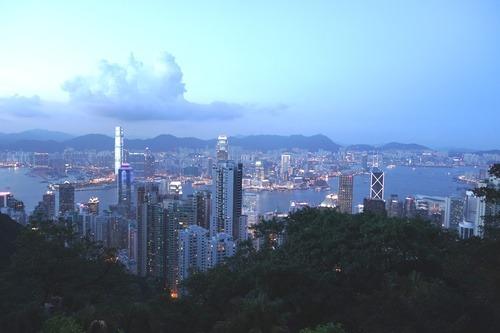 Hong Kong z Victoria Peak