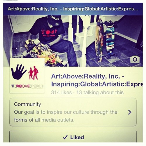 Please help us get to #1000Likes! Facebook.com/ArtAboveReality… We're doing a great giveaway at 1000! Join us! #artabovereality #art #africa #asia #austrailia #uk #italy #fashion #music #skating and more!