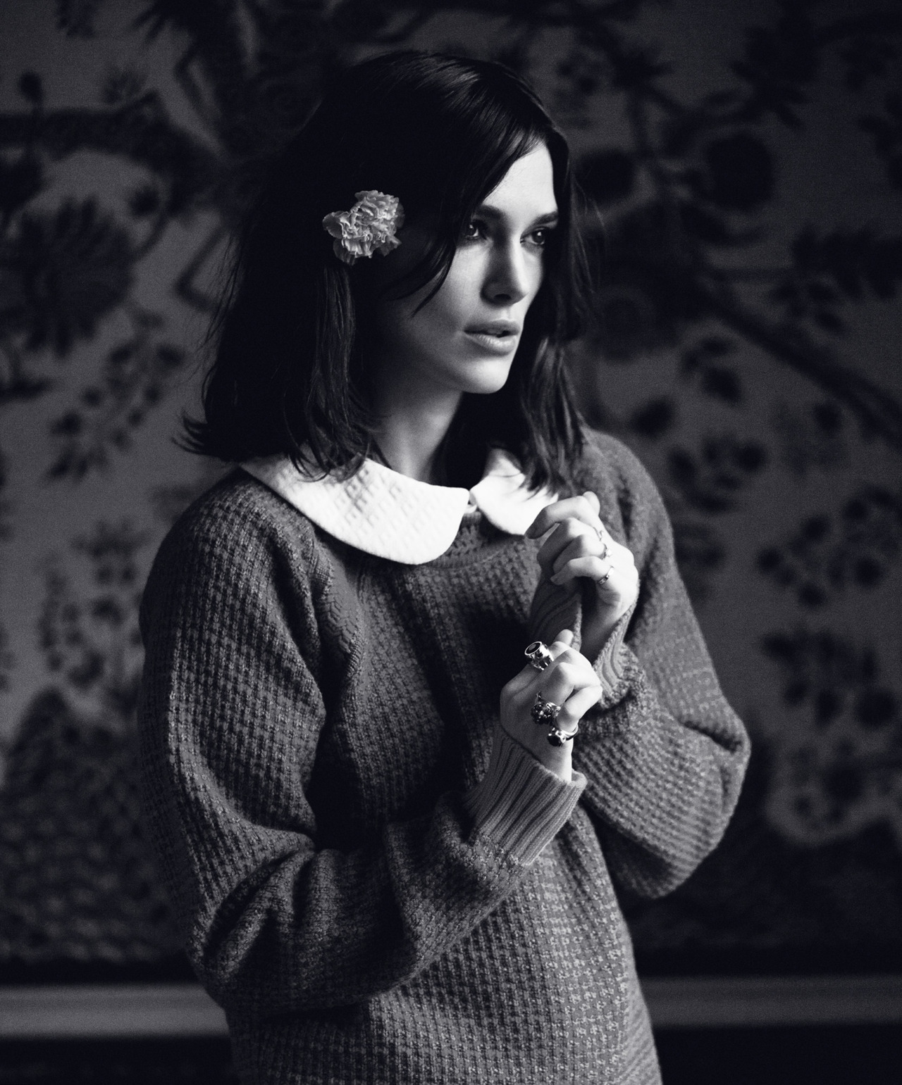 Keira Knightley by Emily Hope for Rika #8 Spring-Summer 2013