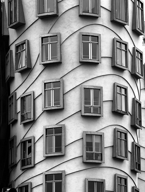 Dancing Windows by Pneumococcus on Flickr.