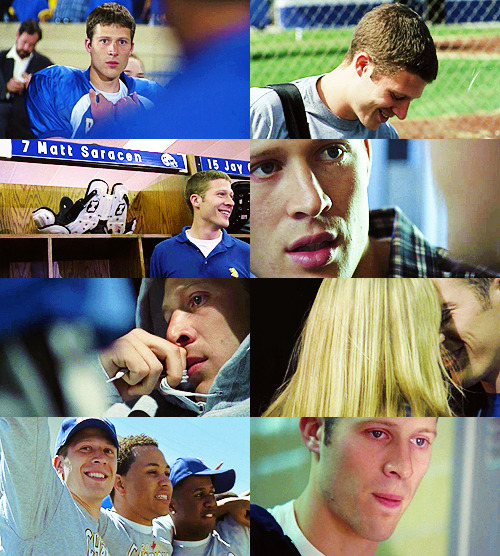 screencap meme → my emotions (matt saracen/fnl) requested by lindsay-bluth