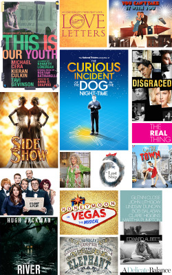 playbill:   FALL BROADWAY 2014 PREVIEW: Starry Revivals are The Real Thing, But, After All, It's Only a Play