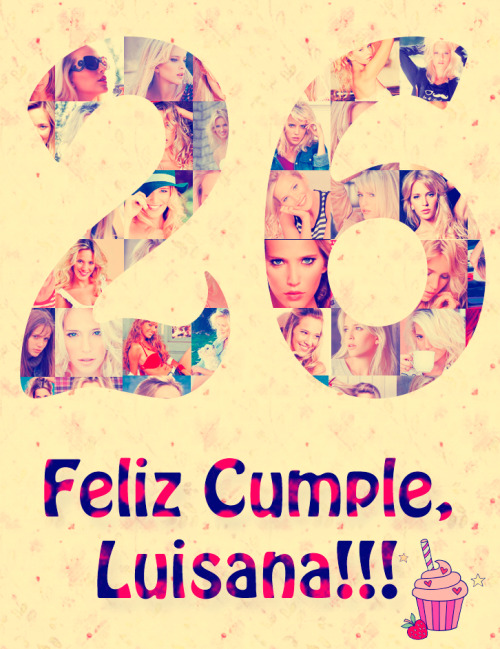 marinareina:  Happy Birthday, Luisana Lopilato!!!
