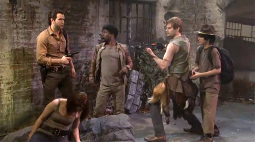 laughingsquid:  Racial Walking Dead Parody Featuring Comedian Kevin Hart on SNL