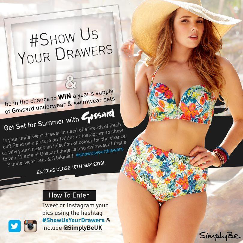 Refresh your underwear drawer with some brand new Gossard lingerie & s