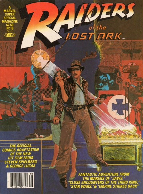 alexhchung:  Raiders Of The Lost Ark Marvel Super Special cover by Howard Chaykin