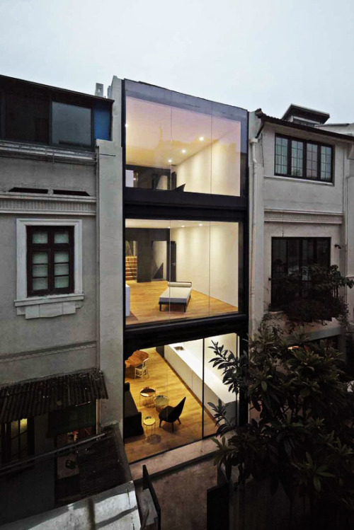 archi-diary:  the split house | neri & hu design  loving it!
