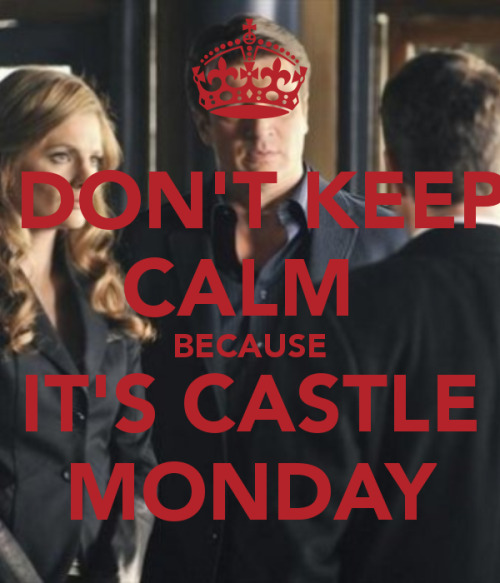popokennedy:  Happy Castle Monday Everyone ! Don't forget to get tissues for tonight's episode ! Have a nice day !  is it bad that im already crying