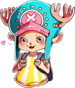 caffeine-victim:  Tony Tony Chopper by *ymstr