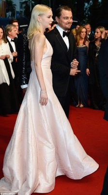 Carey Mulligan and Leonardo DiCaprio @ Cannes Film Festival Carey wears Dior and she looks fantastic!