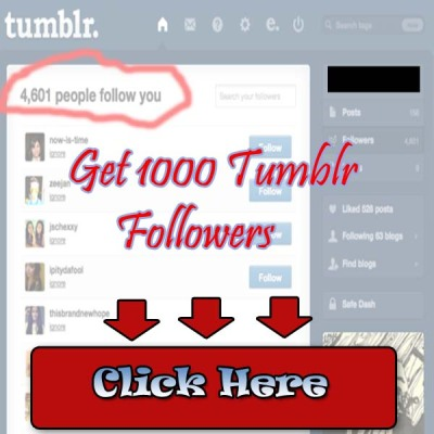 followtrain30:  Click Here To Get Your 1000 Tumblr Followers Now