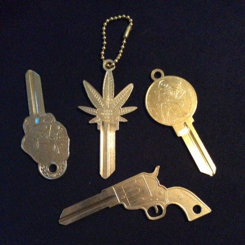 Check out these cool key blanks from Goodworth & Co.  Check them out at www.thegoodworth.com @thegoodworth  #keys #kwikset #pistol