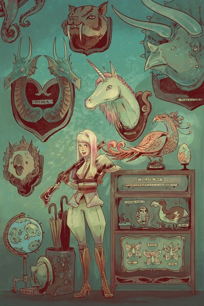 steampunkd:  Mythical Beast Hunter