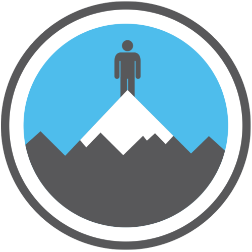 lifescouts:  Lifescouts: Mountain-Climbing Badge If you have this badge, reblog it and share your story! Look through the notes to read other people's stories. Click here to buy this badge physically (ships worldwide).Lifescouts is a badge-collecting community of people who share their real-world experiences online.