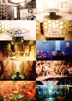 'It's bigger on the inside' - the TARDIS through the years