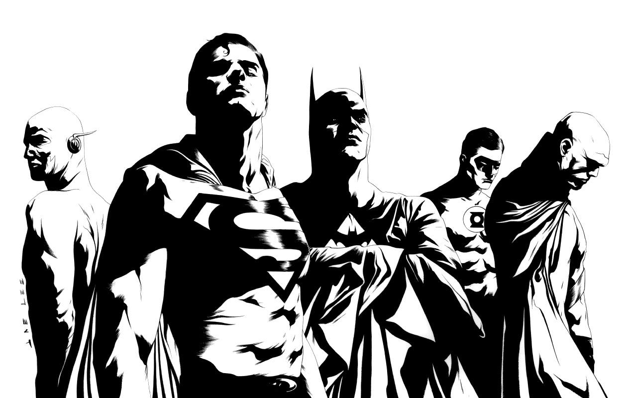 Justice League // Jae Lee(via)