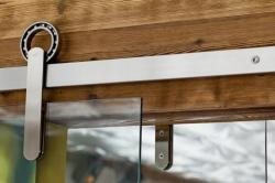 neo-constructivist:  (via Simple Elegance: Sliding Door Hardware from Krown Lab: Remodelista)