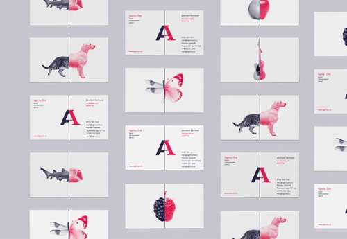 weandthecolor:  Agency One Brand Identity Moscow, Russia-based graphic designer Vova Lifanov was involved in the branding project for Agency One, a digital communication agency. More of the brand identity on WE AND THE COLORWATC//Facebook//Twitter//Google+//Pinterest