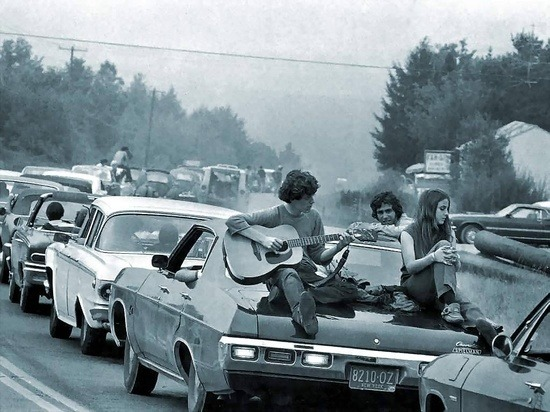 theswinginsixties:  The road to Woodstock, 1969.