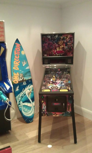 Louis Tomlinson Game Room