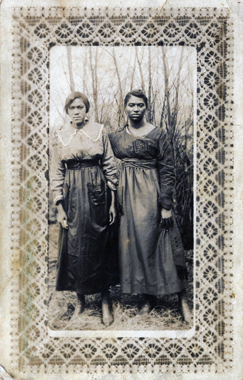 Two Women in a Field 1910's, Little Rock, AR ©WaheedPhotoArchive, 2013