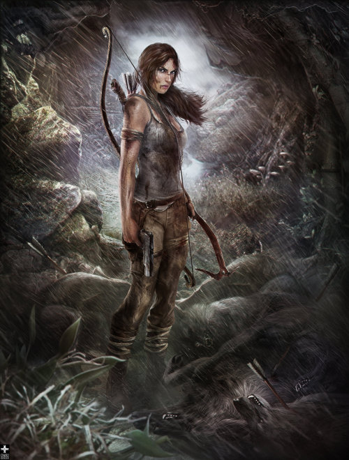 Tomb Raider 'I Am a Survivor' by omrikoresh