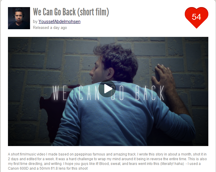 We Can Go Back (short film) by YoussefAbdelmohsen