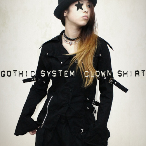 Gothic System Clown Shirt by FUNKY FRUIT