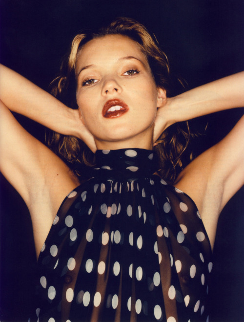 life-ispeachy:  Kate Moss by Juergen Teller for Yves Saint Laurent S/S 1997
