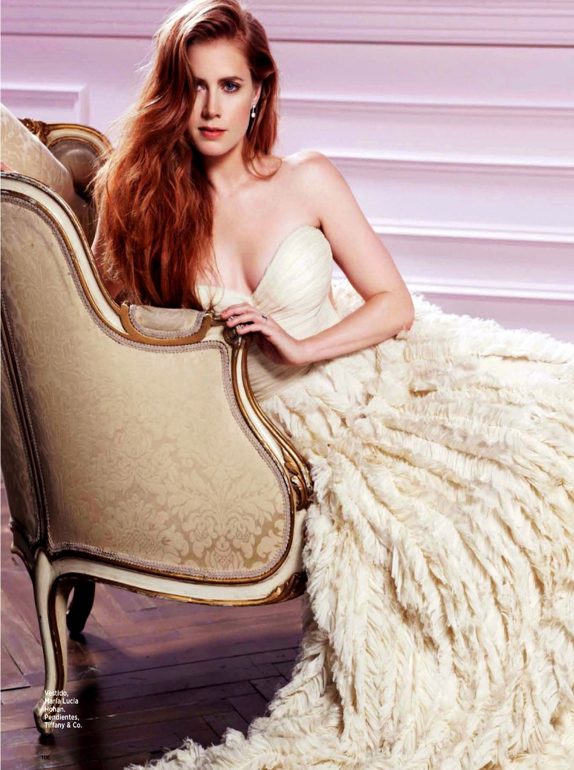 Amy Adams - Bazaar Argentina by Darren Tieste, April 2013