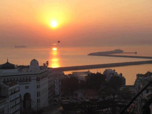 Sunset in Algiers