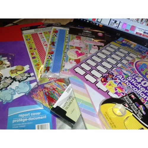 #PlanningwithCrystal Today's purchase. Stickers & Stickers yay!!