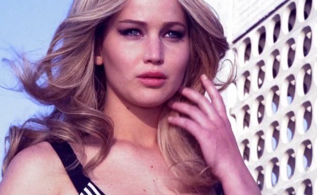 framenoir:    WATCH Ellen Von Unwerth shoot Jennifer Lawrence at The Standard, High Line for the February cover of Vanity Fair.