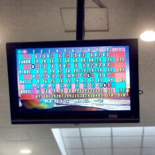 #throwback #sukem2013 #bowling #1stgame