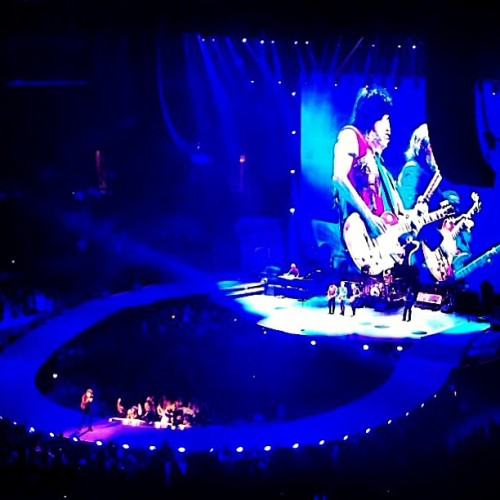 True lengends!! The @RollingStones #live at #StaplesCenter #HydeStaples #rollingstones #losangeles #stones #hydesuitelife #hyde #Photooftheday (at Hyde Lounge)