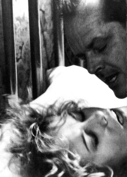 "cinemamonamour:  Jessica Lange and Jack Nicholson in The Postman Always Rings Twice (1981)  Lange's preparation for the role of Cora is well documented. She worked on the role heavily before filming began, deciding to base the character of B-movie actress Barbara Payton. In an interview with Rolling Stone, Lange explained that she saw Cora as a failed actress who had moved to Hollywood and dealt with rejection after rejection. The fact that she now worked in a diner was even more humiliating. Costar Jack Nicholson gifted Lange with Payton's autobiography ""I Am Not Ashamed"" which she carried with her on set at all times. The film also features Lange's first sex scene. The scene was so steamy that controversy arose as audiences believed that the sex was real and not simulated.(x)"