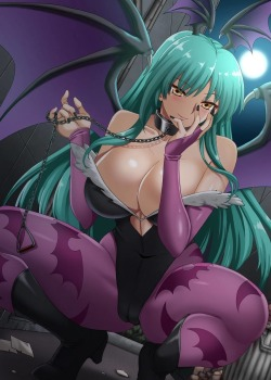 Morrigan Aensland by ヘルアンドヘブンAs found at