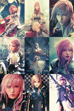 Favorite Final Fantasy females | Claire Lightning Farron