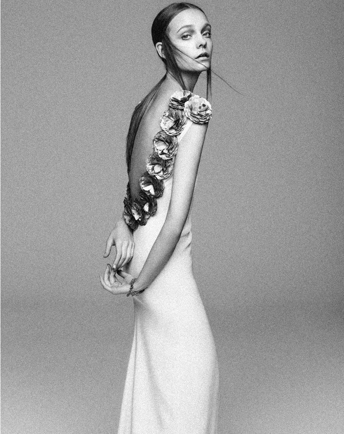 voguelovesme:  NIMUE SMIT FOR APROPOS JOURNAL'S SPRING/SUMMER 2013