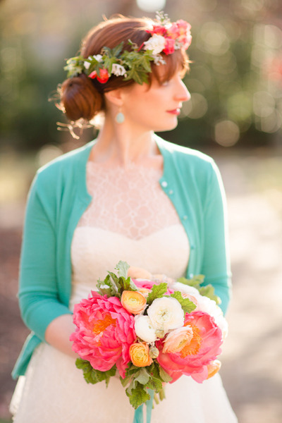 Bouquet by JMFlora…dress by Jenny Yoo…captured by Katelyn James Photography